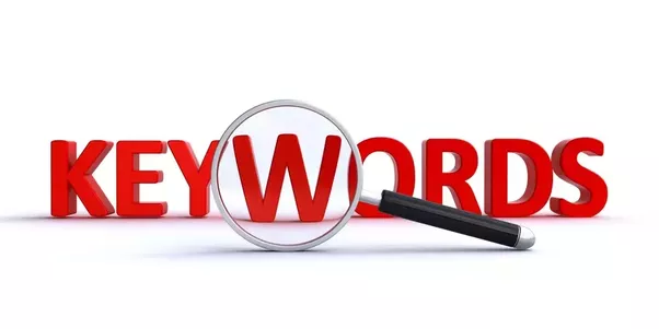 use of keywords in SEO